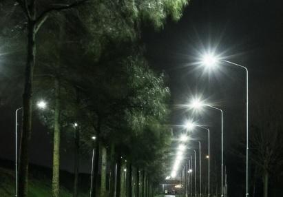 led verlichting op dordtse kil i en ii en rijksstraatweg